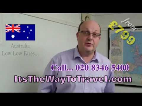 Travel to Australia [UK Business Travel] Its The Way To Travel