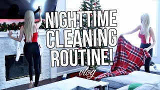 MY NIGHTTIME CLEANING ROUTINE!