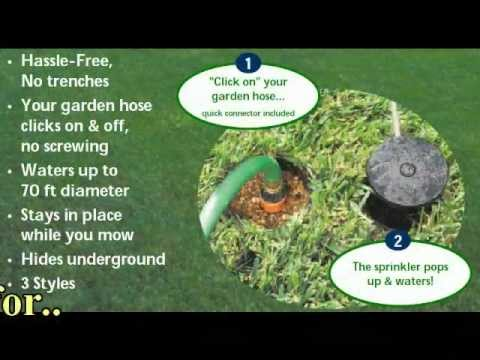 Watering Made Easy - Pop-Up Lawn Sprinkler Systems