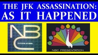 Download NBC-TV (11/22/63) (TWO HOURS OF JFK ASSASSINATION COVERAGE) Video
