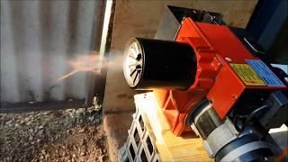 bairan STW120P waste oil burner problems