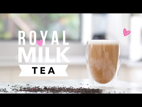 Royal Milk Tea ♥ Easy Afternoon Tea Recipe + GIVEAWAY! (closed)