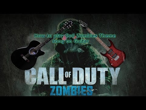 How to play Call of Duty Theme song on Guitar (easy)