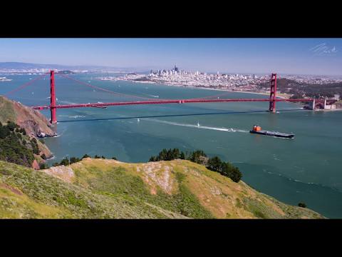 San Francisco's Golden Gate Bridge - 8k Raw Nikon D810 to 4k Final Timelapse Video