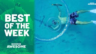 Extreme Underwater Skills & More | Best Of The Week