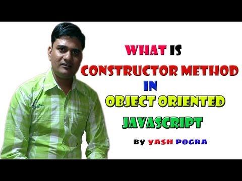 constructor method javascript | JavaScript Constructors | Constructor Functions | Lecture - 4