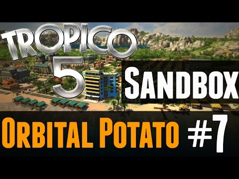Tropico 5 Sandbox - Lets Play - Part 7 - Cabins!