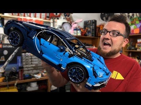 REVIEW: LEGO Technic Bugatti Chiron Car Set 42083