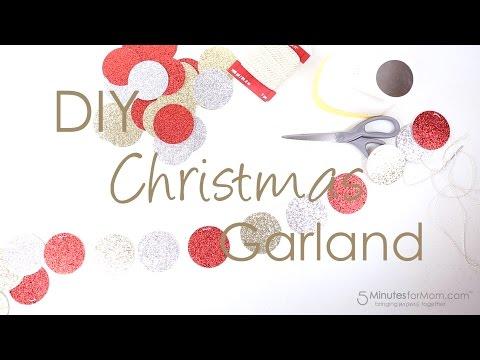 DIY Easy Christmas Garland