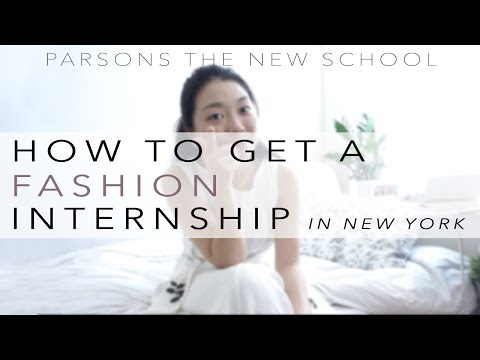 How to Get a Fashion Internship in New York City
