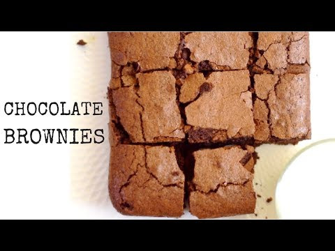 Chocolate Brownies/Chocolate Fudge Brownies/Easy Brownie Recipe