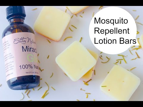 Making Mosquito Repellent Lotion Bars (DIY Saturday Episode 9 )