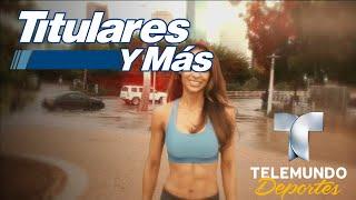 """Así se prepara Briana para el """"Exatlón""""   Titulares y Más   Telemundo Deportes"""