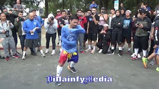 Download (DON'T BLINK!!) MANNY PACQUIAO PROVES TO VADA & NSAC HIS HAND SPEED & ABILITIES ARE GOD GIFTED!! Video