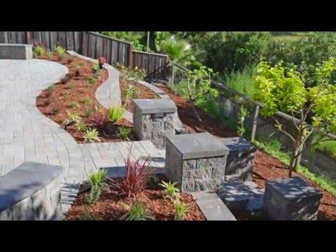 Interlocking Paver Stone Patio and Walkway Installation