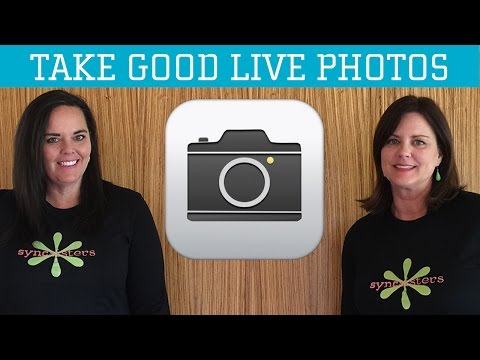 iPhone / iPad Camera App: Take Good Live Photos