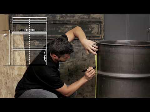 Big Poppa Smokers Engineered Drum Smoker Kit Instructions