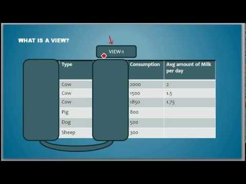 What is a View - Database Tutorial 9 (Common for Oracle/Microsoft SQL Server/Sybase)