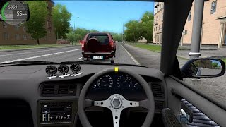 City Car Driving Honda Civic Type R Fast Driving Music Jinni