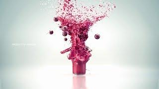 Fluid simulation,VFX.  Commercial for Tamara Juice