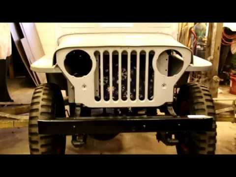 Willys CJ3A Body Update, Almost Ready For Paint!!