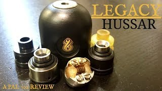 LEGACY RDA HUSSAR VAPES ~ 22MM/BIG AIR/BIGGER FLAVOR/CUSTOMER SERVICE