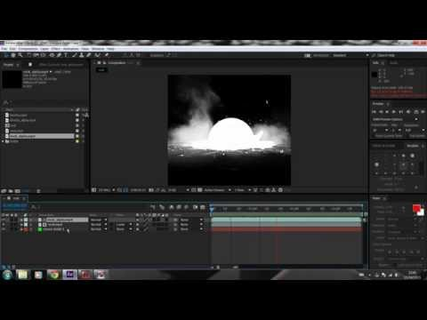 How to use Alpha Channel After Effects 2015