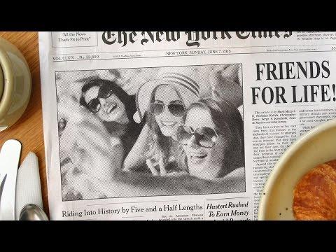 Photoshop Tutorial: How to Create a Newspaper Photo Effect & Custom Headline!