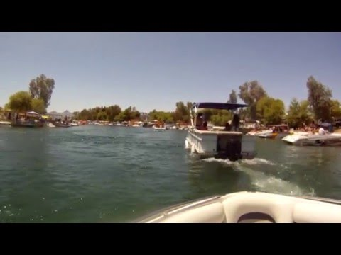 Lake Havasu 5-29-12 Memorial Day Weekend on the SS I've Had Better
