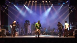 Kite & Acky -vs- Franqey & Iron Mike - Popping Battle / URBAN DANCE SHOWCASE