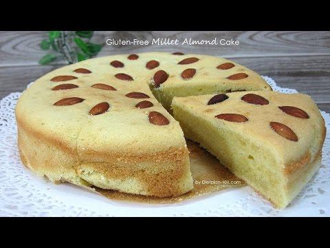 Gluten-Free Millet Almond Cake | Dietplan-101.com