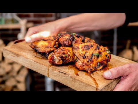 Grilled Chicken - Easy grilling for large groups