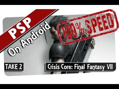 Crisis Core Final Fantasy VII (Take 2) (PPSSPP v1.0) (100% SPEED) PSP Emulator on Android