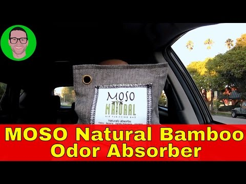Natural MOSO Bamboo Charcoal Odor Absorber For Your Car & Home