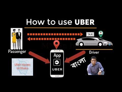 How to use uber, কীভাবে উবার ব্যবহার করব