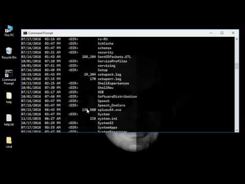 Cmd Tutorial 1 -  cd , dir , cls , ../ , exit command  ( Windows Command Prompt )