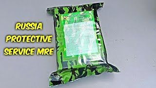 Tasting Russia Federal Protective Service MRE (Meal Ready to Eat)