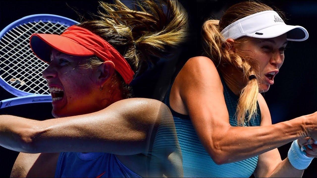 Sharapova Vs Wozniacki   Australian Open 2019 - Full Match
