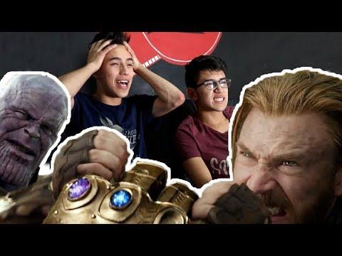 REACCIÓN: INFINITY WAR TRÁILER 2 - El Cap Vs Thanos
