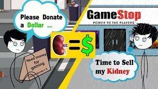When a Gamer sells his Kidney to buy a Gaming PC