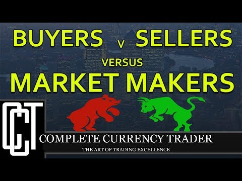 Forex Order Flows Between Buyers, Sellers, & Market Makers