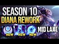 Diana Mid Lane Gameplay - Patch 9.24 (League of Legends Gameplay)