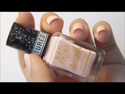 Barry M Textured Nail Effects Review