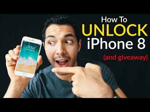 How To Unlock iPhone 8 (Plus) - Passcode & Carrier Unlock | AT&T, T-mobile, etc.. | Forgot Passcode