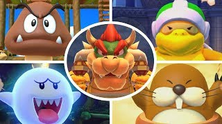 Mario Party 10 - All Boss Battle Minigames