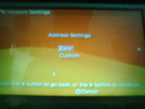 How to set up Your Internet Connection on PSP