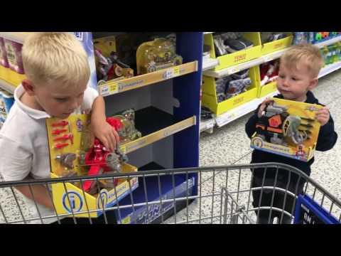 The Sandy boys spend their Tesco vouchers very lucky kids!