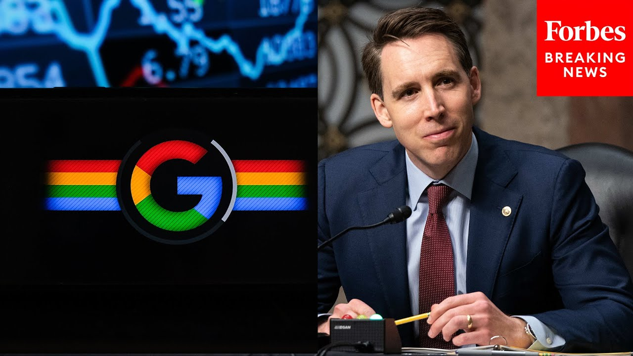"""Josh Hawley warns """"modern Oligarch"""" tech companies """"controlled"""" Obama WH and Biden Justice nominee"""