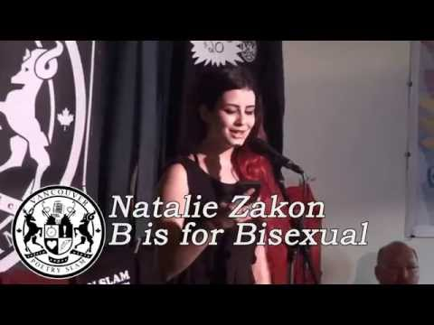 Natalie Zakon - B is for Bisexual