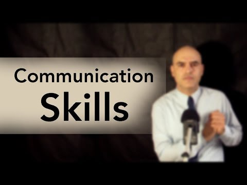 Communication Skills, Confusion and Misunderstanding